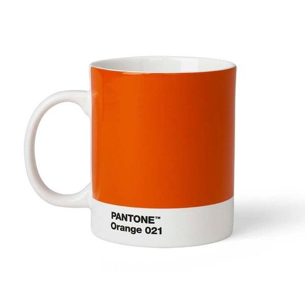 Cană Pantone, 375 ml, portocaliu