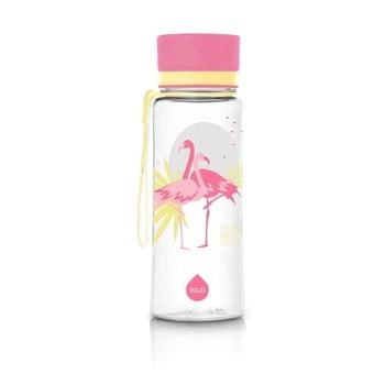 Sticlă Equa Flamingo, 400 ml, roz