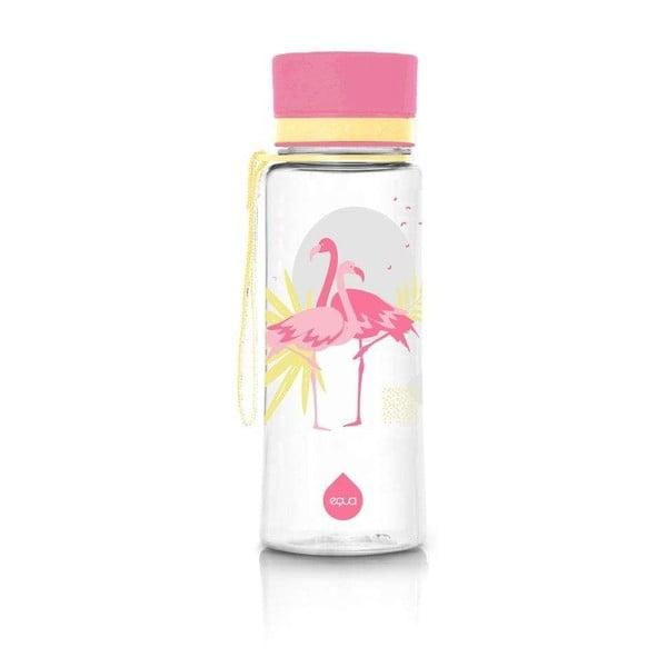 Růžová láhev Equa Flamingo,600ml