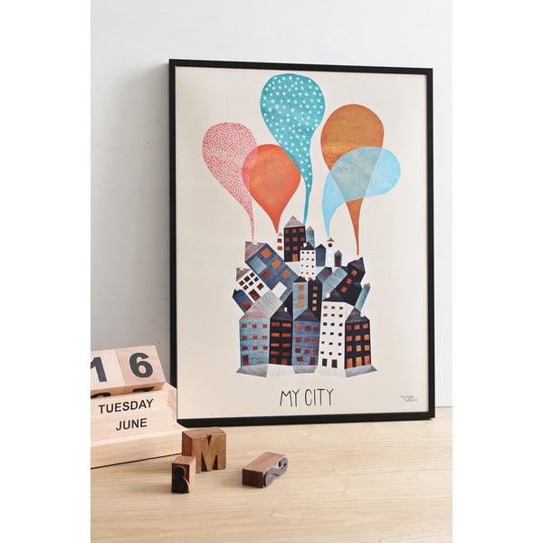 Plakát Michelle Carlslund My City, 50x70cm
