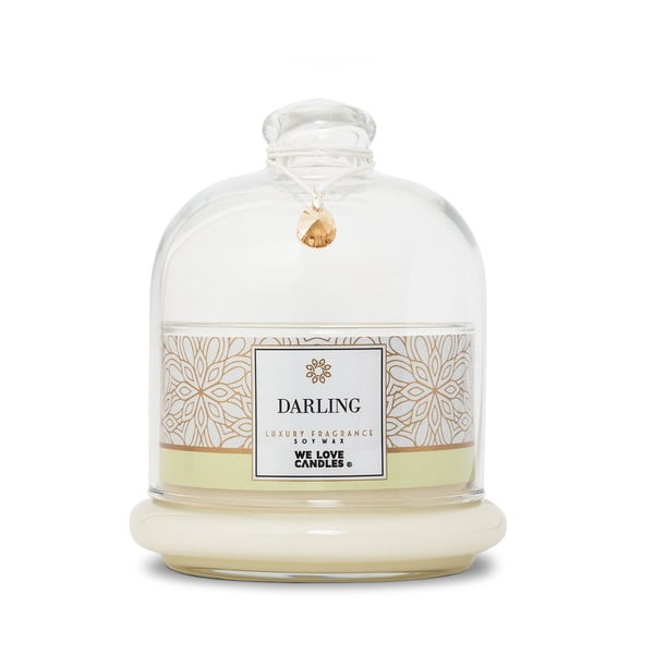 Lumânare din ceară de soia We Love Candles Darling, 72 ore de ardere