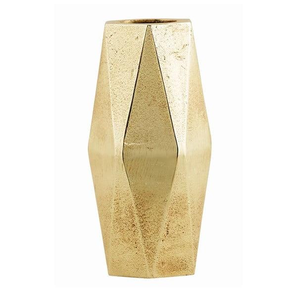 Váza Geometry Tall Gold