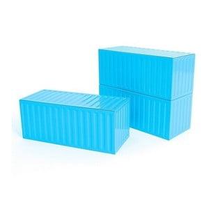 Kontejner, modrý