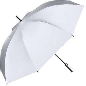 Stříbrný reflexní větruodolný deštník pro dvě osoby Ambiance Shine, ⌀119cm