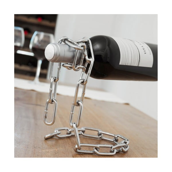 Stojan na láhev vína ve tvaru řetězu InnovaGoods