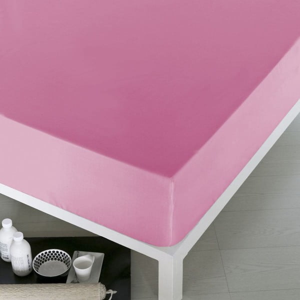 Prostěradlo Home Pink, 160x200 cm