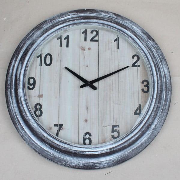 Dřevěné nástěnné hodiny Dakls, ø55cm