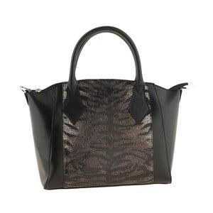 Kožená kabelka Gress Black