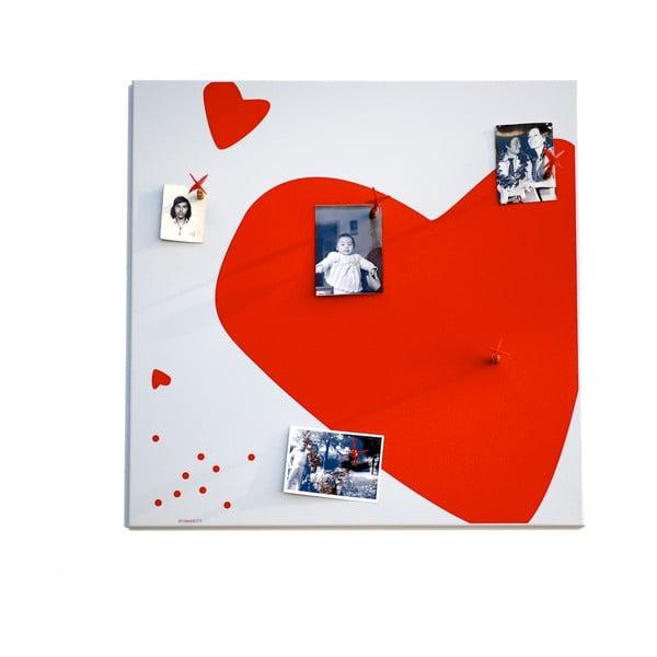 Magnetická nástěnka Srdce