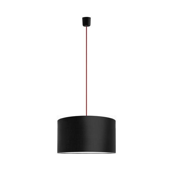 Závěsné svítidlo Tres 40 cm, červená/černá