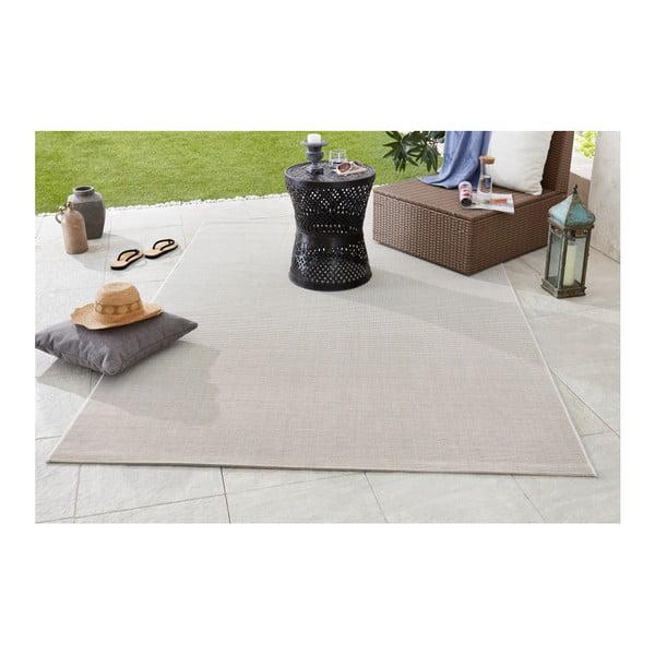 Krémový koberec vhodný do exteriéru Bougari Meadow, 120x170cm