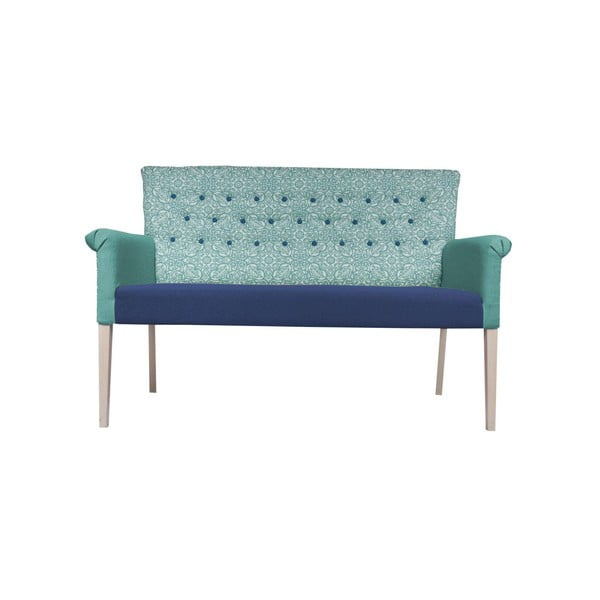 Sofa Romantic Provence Blue Marine/Blue