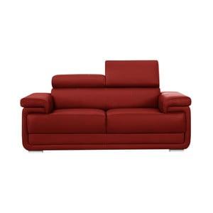 Canapea cu 2 locuri Corinne Cobson Eclipse, roșu