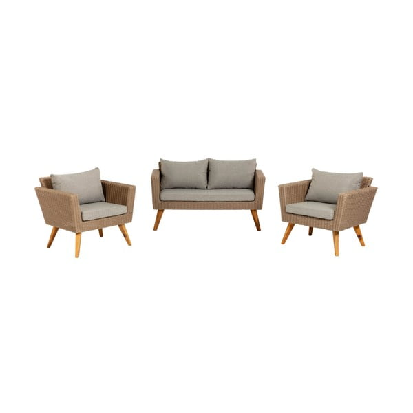 Komplet 2 foteli i sofy La Forma Sumie