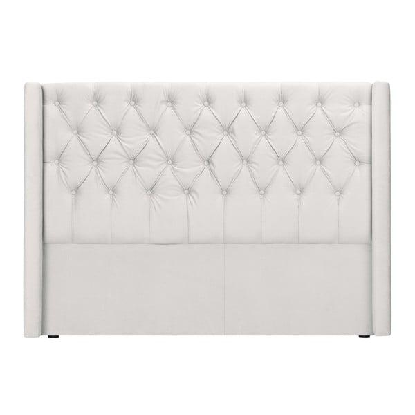 Bílé čelo postele Windsor & Co Sofas Queen, 176 x 120 cm