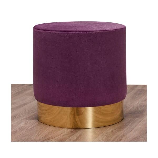 Taburet Balcab Home Olga, violet închis