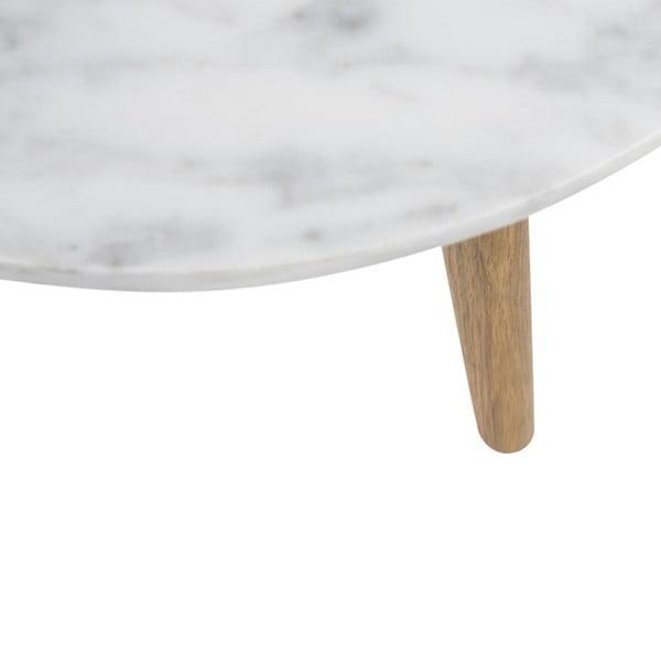 Konferenční stolek Fiord Marble, 40x40 cm