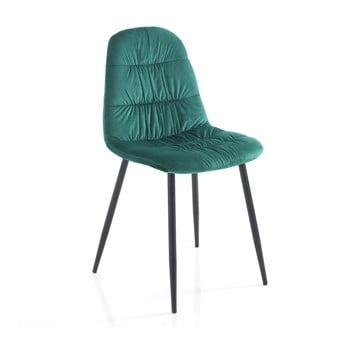 Set 4 scaune Tomasucci Fluffy, verde de la Tomasucci