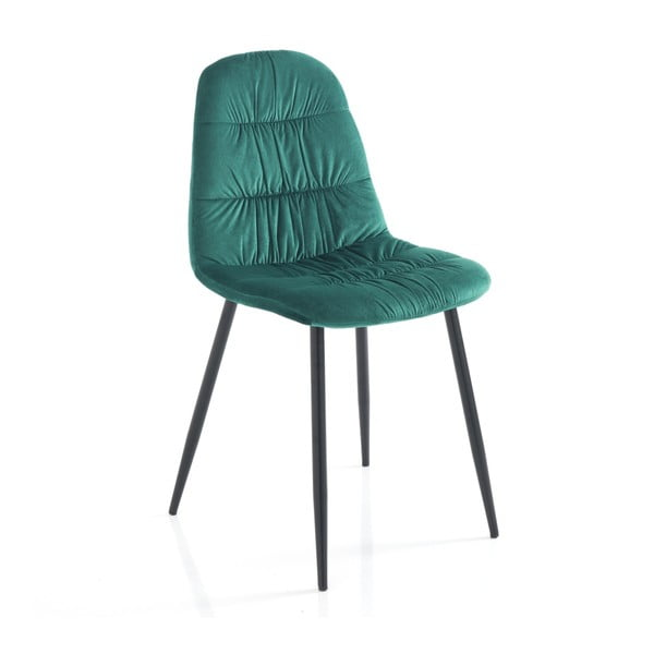 Set 4 scaune Tomasucci Fluffy, verde