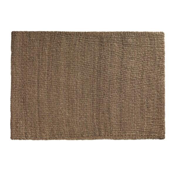 Hnědý koberec z mořských řas Geese Rustico Natura, 150 x 210 cm