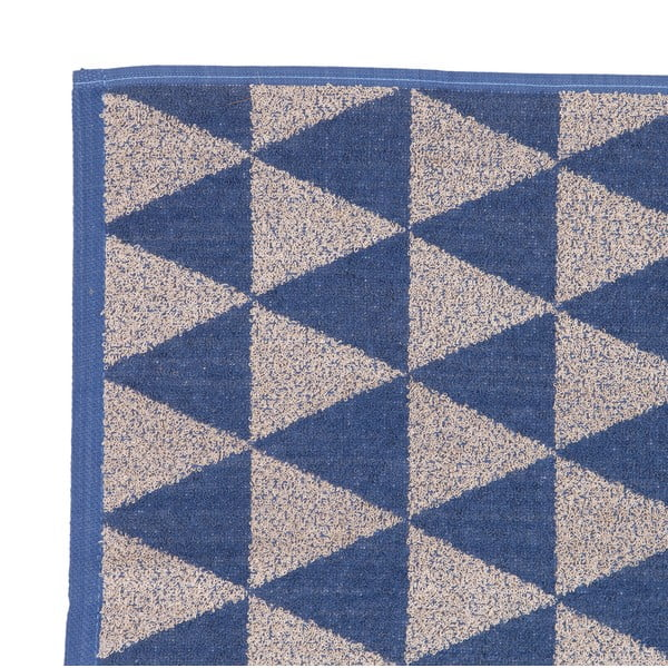 Sada 2 béžovo-modrých froté ručníků Casa Di Bassi Simon, 50 x 70 cm