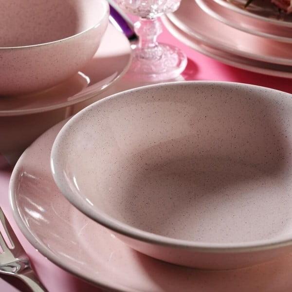 24-częściowy zestaw talerzy porcelanowych Kutahya Burrtona