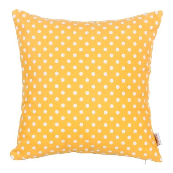 Față de pernă Yellow Dots