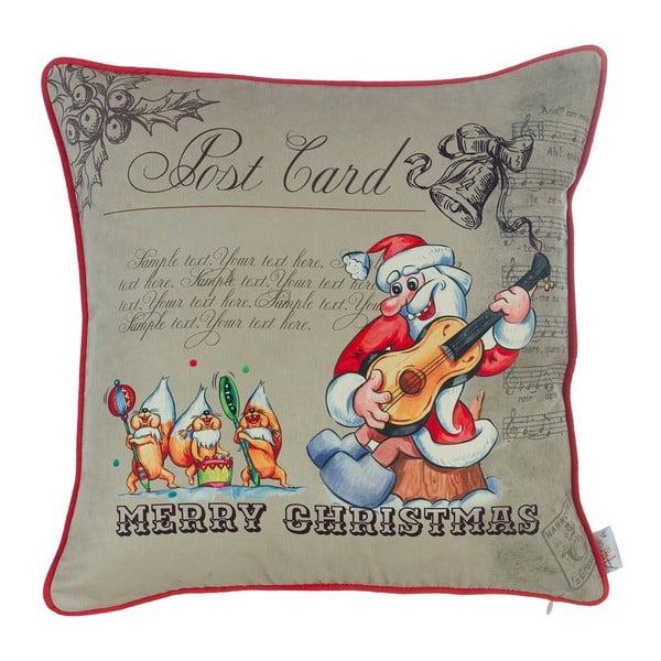 Vianočná obliečka na vankúš Apolena Comfort Merry Christmas, 43×43 cm