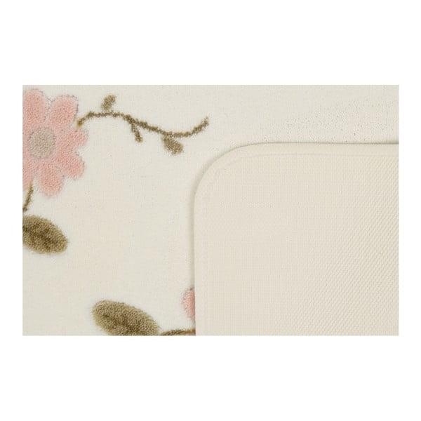 Sada 2 koupelnových předložek Confetti Bathmats Margherita White