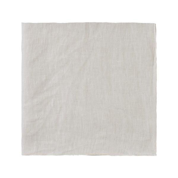 Krémově bílý lněný ubrousek Blomus, 42x42cm