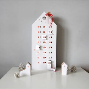 Calendar advent cu detalii negre Unlimited Design for kids