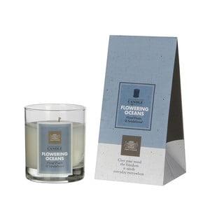 Vonná svíčka Fragrance, vůně rozkvetlý oceán