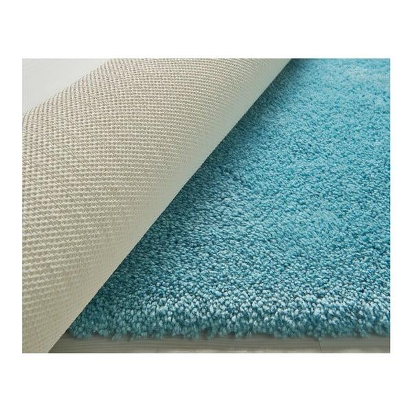 Tyrkysová předložka do koupelny Confetti Miami, 100x160cm