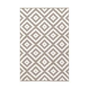 Béžovo-šedý oboustranný koberec vhodný i do exteriéru Green Decore Ava, 60 x 90 cm