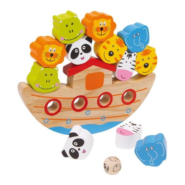 Drewniana zabawka do balansowania Legler Ark