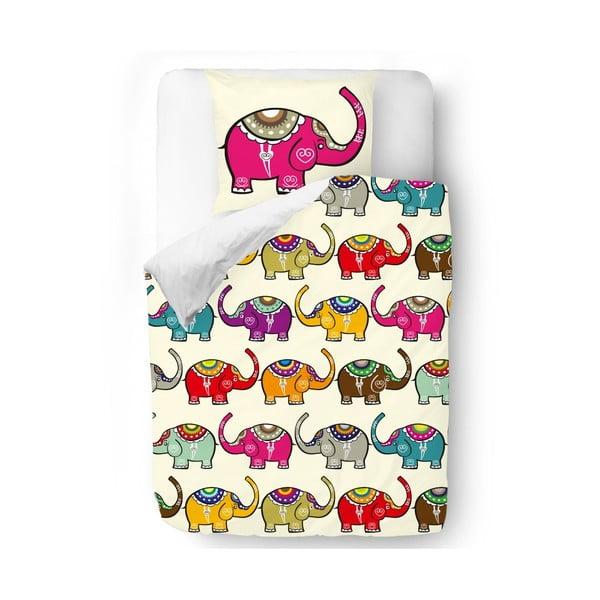 Povlečení Pink Elephant, 140x200 cm