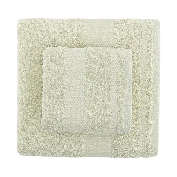Sada 2 zelených ručníků Clio