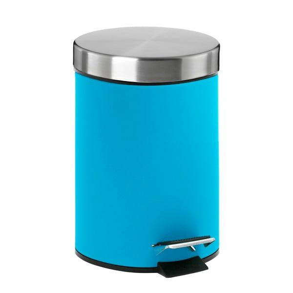 Odpadkový koš s pedálem, modrý
