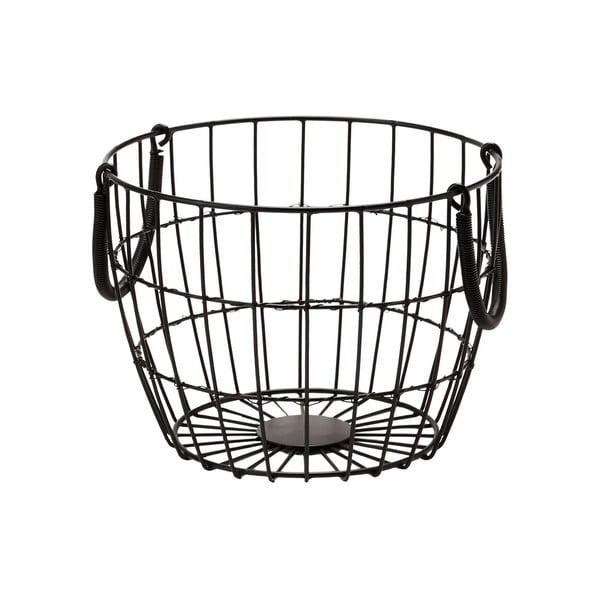 Kovový košík Troya, 25x19 cm