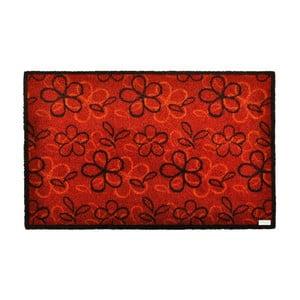 Rohožka Zala Living Floral Red, 120x200 cm