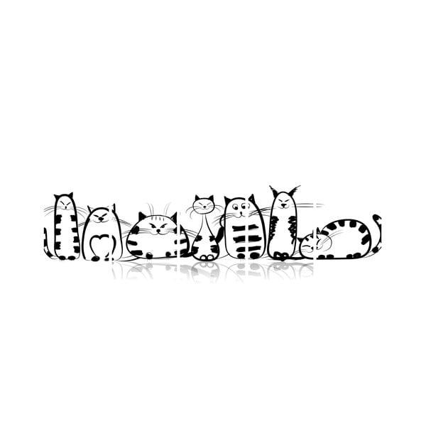 Vícedílný obraz Black&White no. 21, 100x50 cm