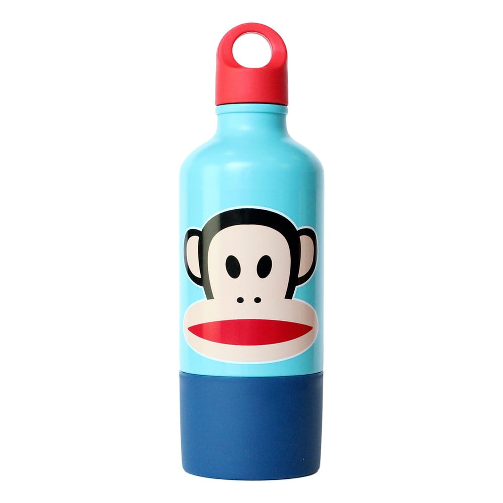 Modrá lahev s hrnkem Paul Frank
