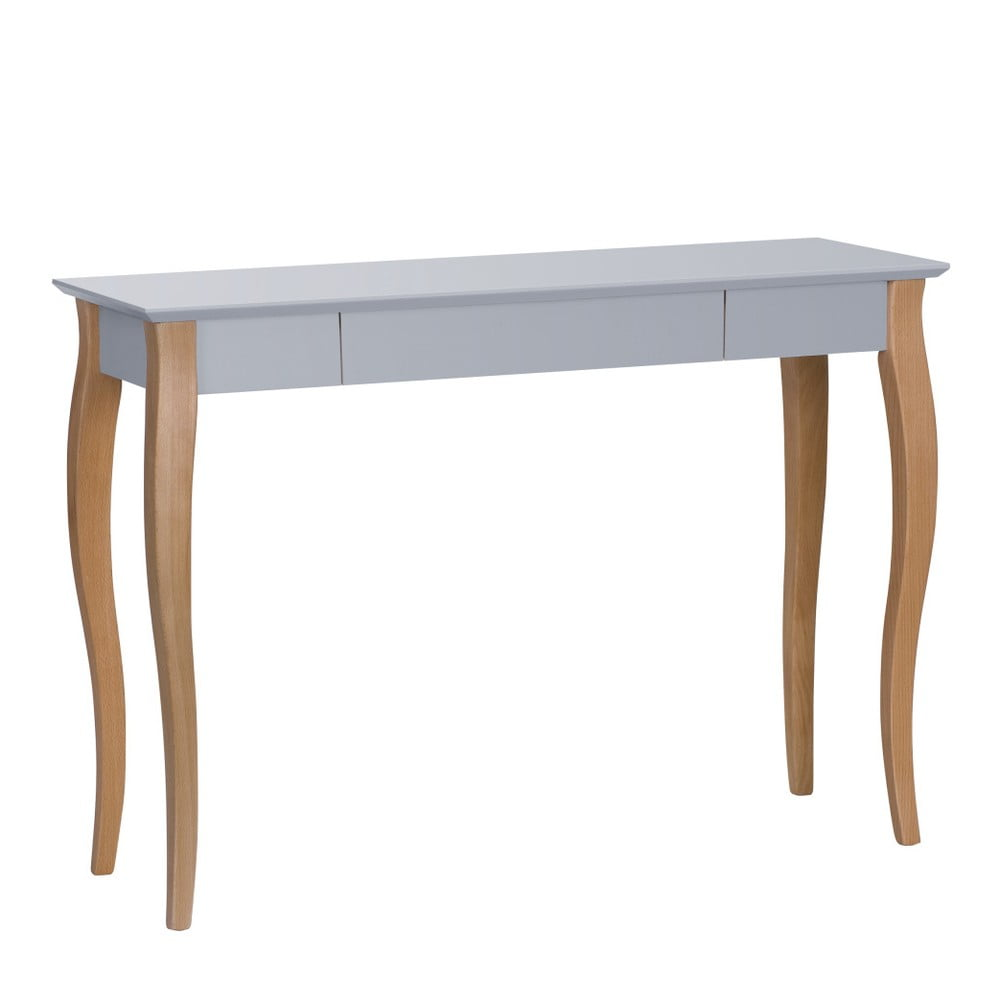 Tmavě šedý psací stůl Ragaba Lillo,délka105 cm