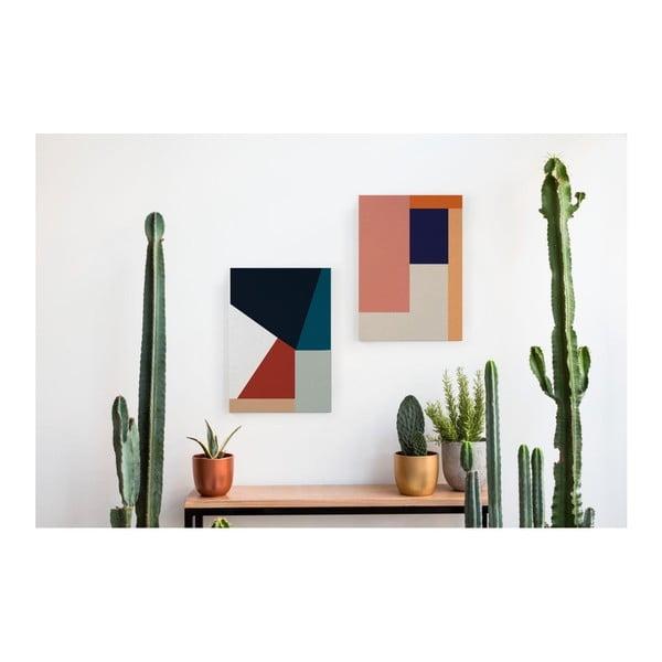 Obraz na plátně Really Nice Things Geometric Roce, 50x70cm