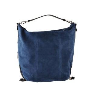 Modrá kožená kabelka Ore Diece Maryland