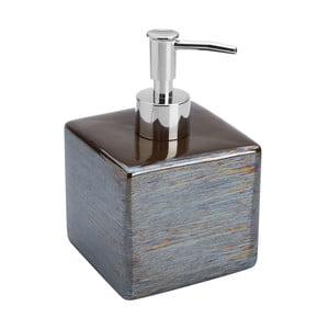 Šedo-hnědý dávkovač mýdla Feridras Dispenser