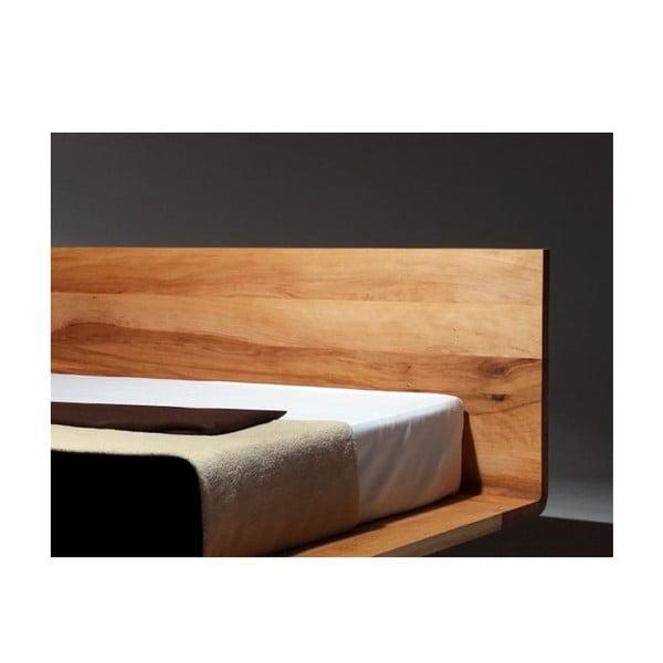 Postel Mazzivo Mood z olšového dřeva napuštěného lněným olejem, 160x200cm