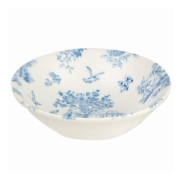 Miska Churchill China Toile Blue de Jardin, 15,5 cm