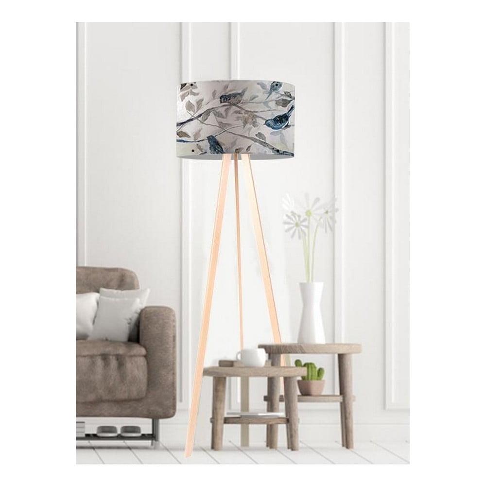 Stojací lampa Birds