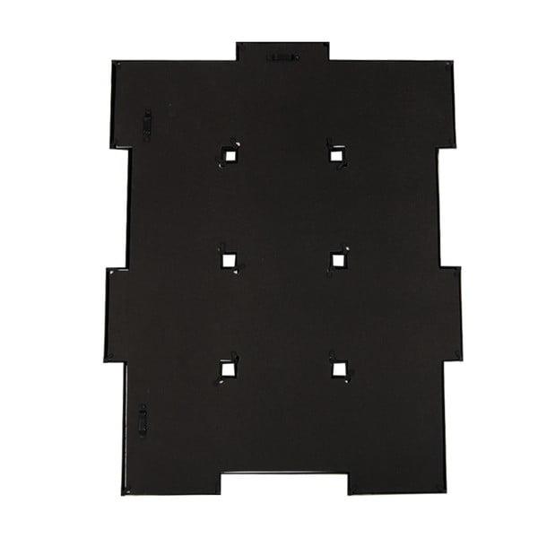 Sada dvanácti spojených rámečků, černá